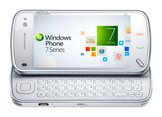 Nokia con Windows Phone 7