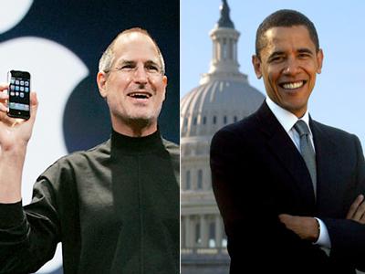Varios líderes TIC, Jobs y Zuckerberg entre ellos, se reúnen con Obama