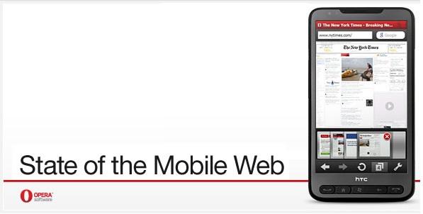 Opera para móviles utilizado por más de 105 millones de usuarios