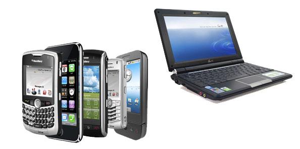 PC y smartphones