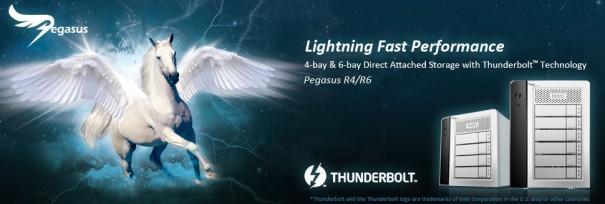 Promise presenta almacenamiento en RAID con Intel Thunderbolt