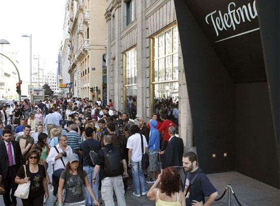 Telefónica gana un 31% más en 2010