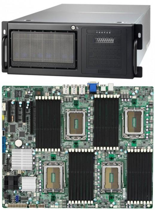 Placa TYAN S8812WGM3NR para cuatro procesadores Opteron 6100