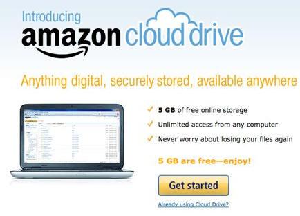 Amazon estrena el servicio de almacenamiento musical en nube