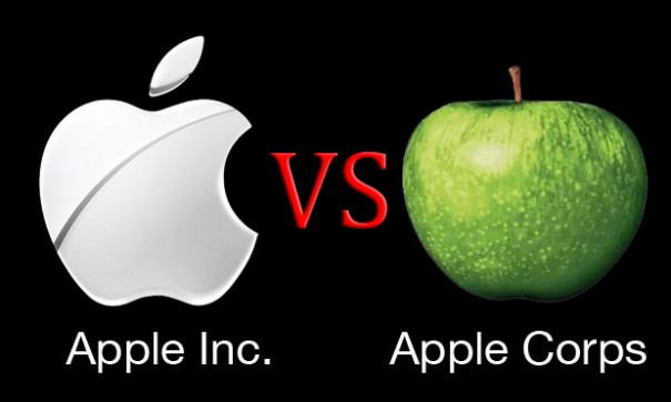 Apple Inc. contra Apple Corps por el logo de The Beatles