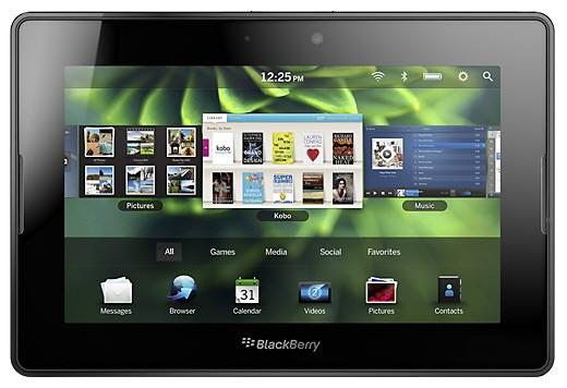 BlackBerry PlayBook, lanzamiento del Tablet más profesional
