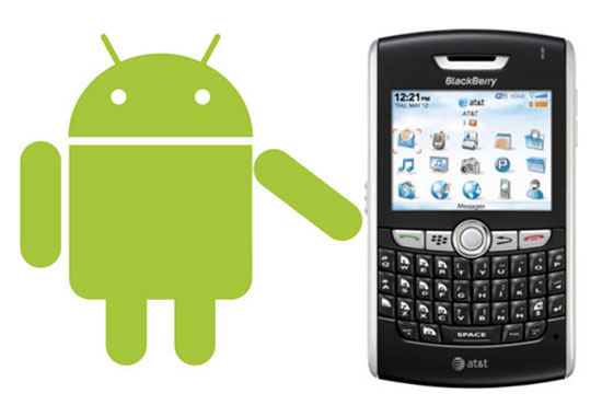 Android en BlackBerry