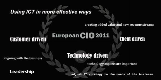 """I edición de los premios """"CIO Europeo del Año"""""""