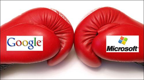 Microsoft versus Google