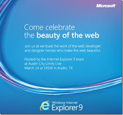 Microsoft confirma el lanzamiento de IE9 el 14 de marzo