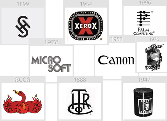 Los logos de las multinacionales IT, irreconocibles