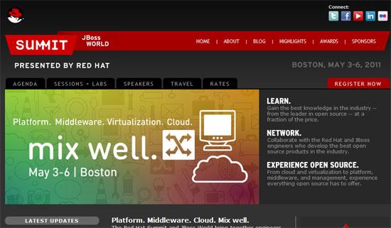 Red Hat Summit y JBoss World 2011