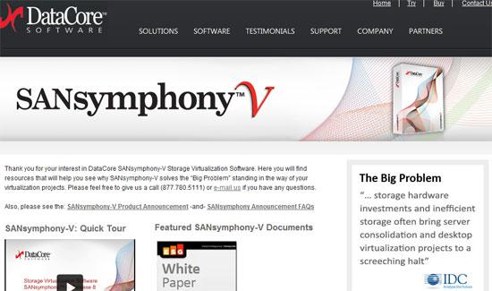SANsymphony Release 8.0, nuevo software para la virtualización del almacenamiento