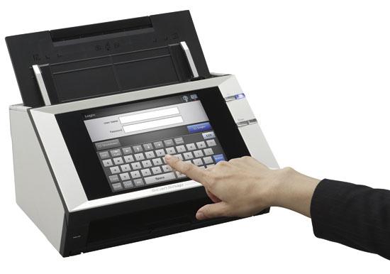 ScanSnap n1800 019 Fujitsu ScanSnap N1800, el primero en red