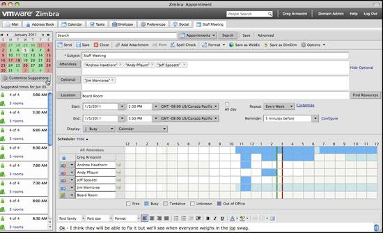 VMware presenta Zimbra 7, para la gestión del correo electrónico