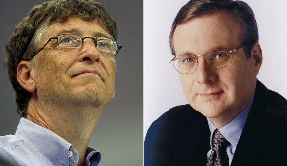 El co-fundador de Microsoft, Paul Allen, ataca a Bill Gates en un libro
