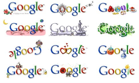 Google patenta los Google Doodles