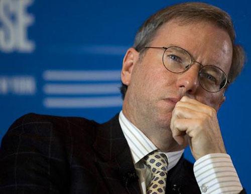 Eric Schmidt, ¿próximo secretario de Comercio en el Gobierno americano?