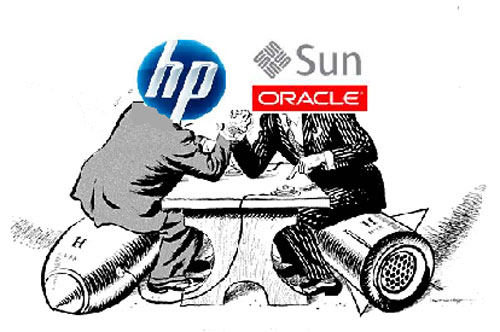 HP vs Oracle