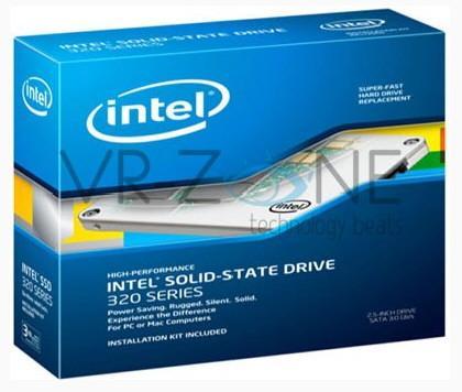 Intel comercializa las SSD 320 de gama media