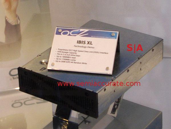 OCZ IBIS XL, SSD de máximo rendimiento para empresas
