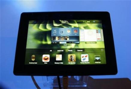 El tablet PlayBook de RIM ofrecerá música de la tienda 7digital