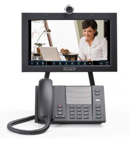 Aastra Blustar 8000i: videoconferencia y comunicaciones unificadas