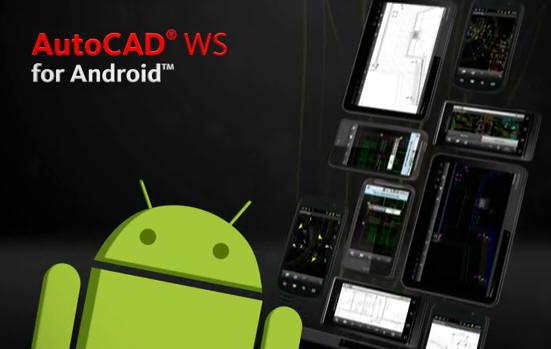 Autodesk publica AutoCAD WS para Android