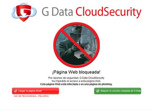 G Data lanza un filtro web gratuito