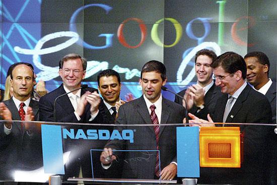 Google dice adiós a Schmidt y hola a Page