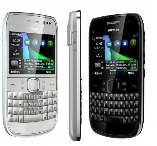 Nokia e6 2 Nokia E6, el smartphone para los profesionales