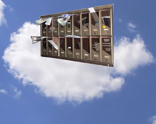 El e-mail se sube a la nube