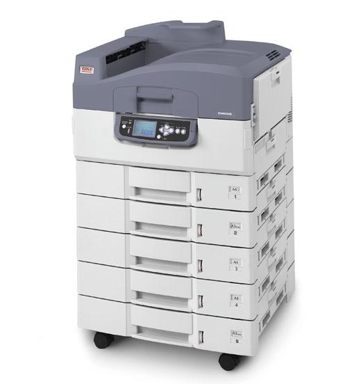OKI lanza su impresora empresarial C9655: robusta y rentable