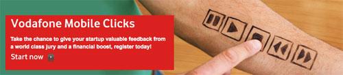Abierto el plazo para el Vodafone Mobile Clicks