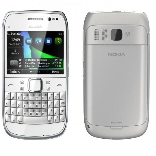 Nokia E6, el smartphone para los profesionales