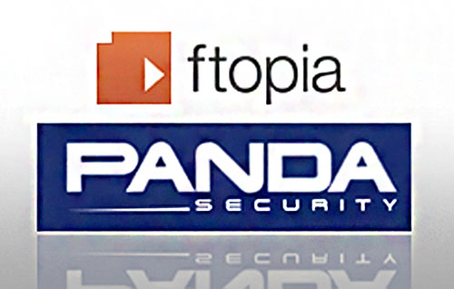 Colaboración Panda Security y ftopia