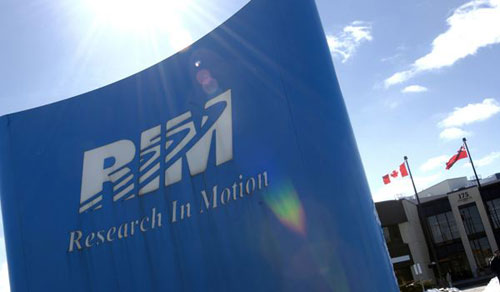 RIM prevé un descenso de ventas y un abaratamiento de BlackBerry