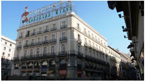 App Store de Apple en el 'Tío Pepe' de la Puerta del Sol