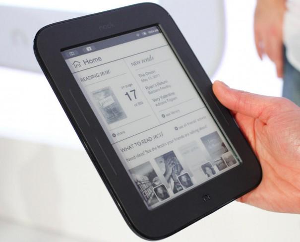 Libros electrónicos táctiles y baratos: nuevos Nook y Kobo