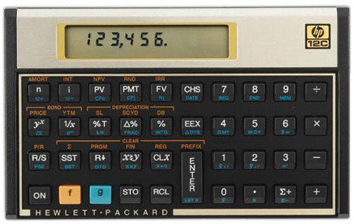 La calculadora HP 12c cumple treinta años de éxitos