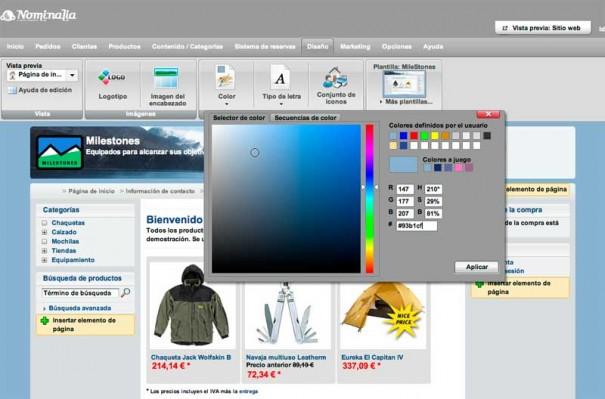 Nominalia Ecommerce 31 605x399 Nominalia E Commerce, una solución sencilla para vender en Internet