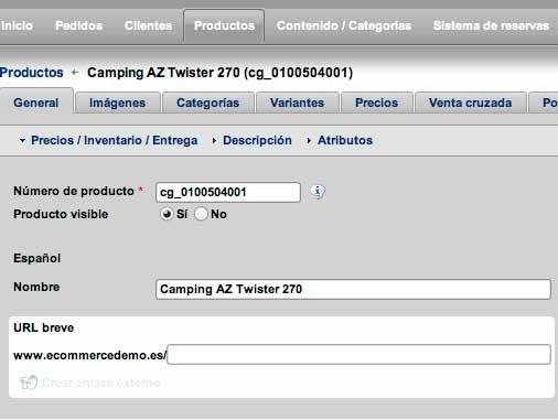Nominalia Ecommerce 5 Nominalia E Commerce, una solución sencilla para vender en Internet