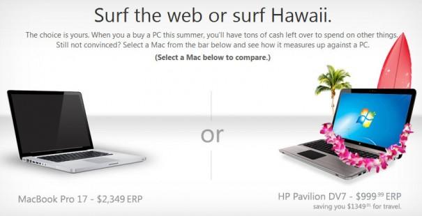 Microsoft relanza la batalla del 'PC contra Mac'