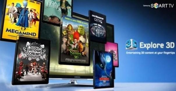 Samsung ofrecerá contenido 3D gratuito con Explore 3D