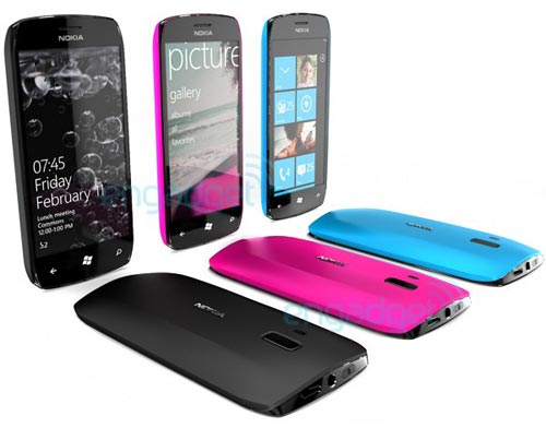Windows Phone 7 con Nokia