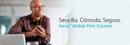 Xerox Mobile Print, la movilidad total llega al mundo de la impresión
