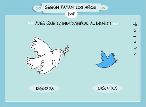 Evolución twitter