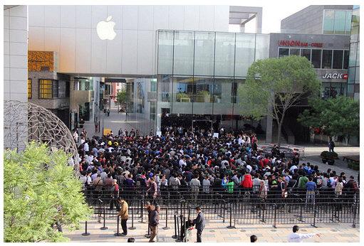 Heridos en China en el lanzamiento del iPad 2