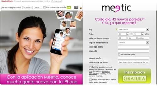 Meetic podría ser comprada por Match.com