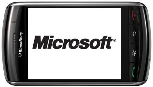 Microsoft y Blackberry